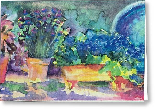 Summer On The Porch Greeting Card