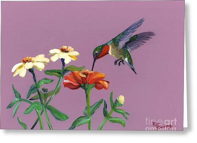 Summer Greeting Card by Pat Burns