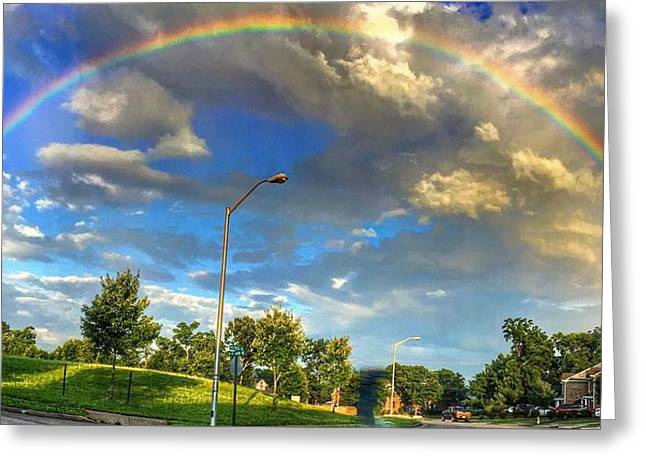 Summer Rainbow Greeting Card