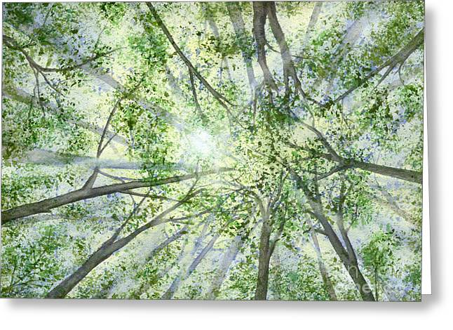 Summer Rays Greeting Card