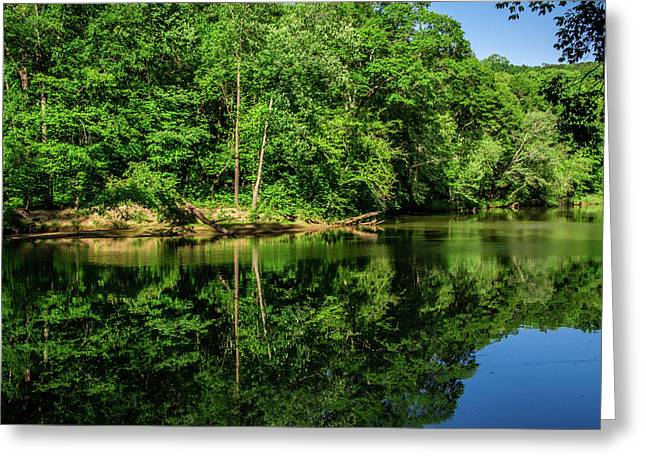 Summer Reflections Greeting Card