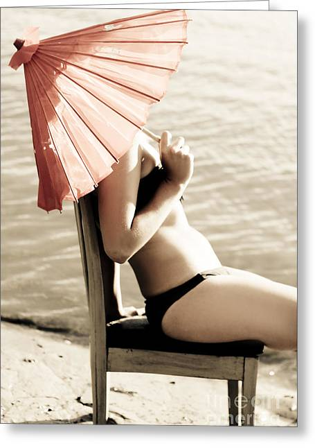 Summer Relaxation Greeting Card by Jorgo Photography - Wall Art Gallery