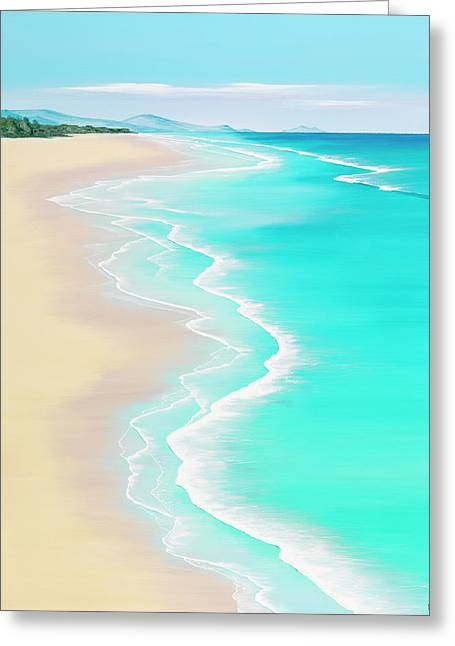 Summer Rendezvous Greeting Card by Colin Perini