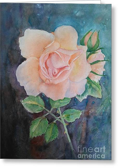 Summer Rose - Painting Greeting Card