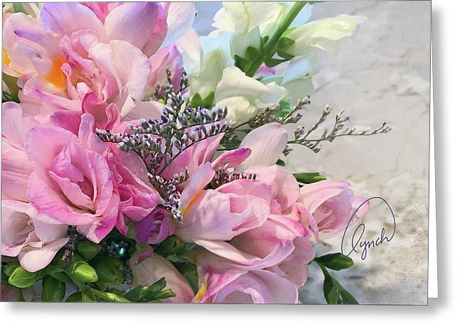 Summer Roses 3 Greeting Card