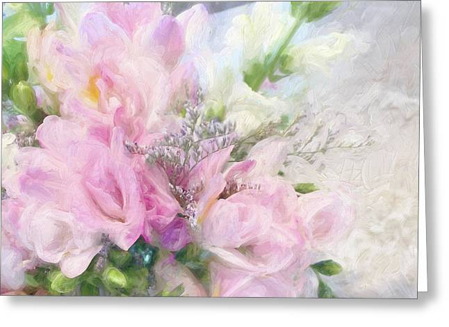 Summer Roses Greeting Card