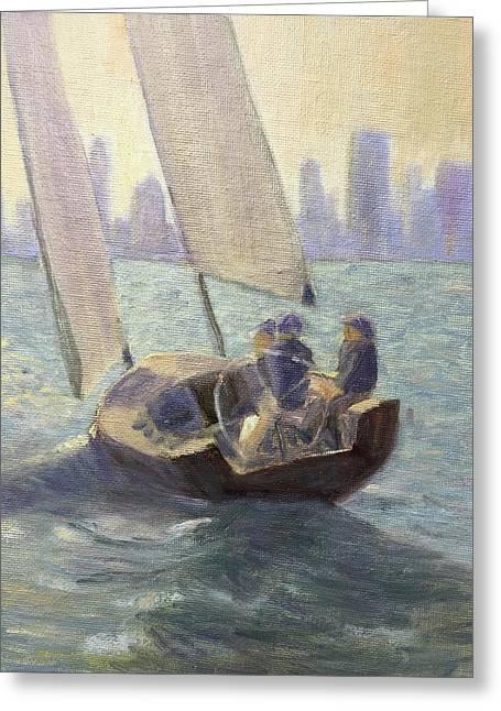 Summer Sail Greeting Card