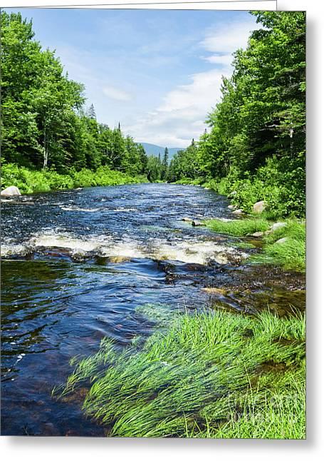 Summer Scene Rangeley Maine  -70742 Greeting Card