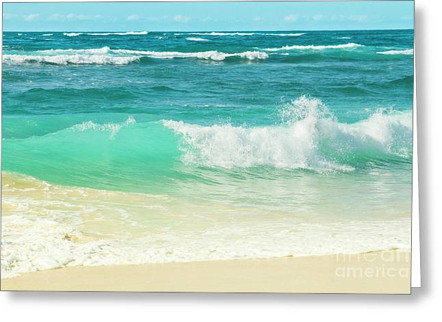 Greeting Card featuring the photograph Summer Sea by Sharon Mau