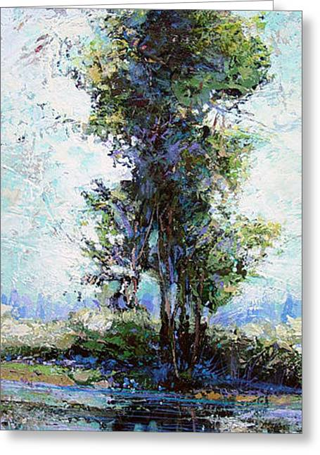 Summer Shade Greeting Card by Dale  Witherow