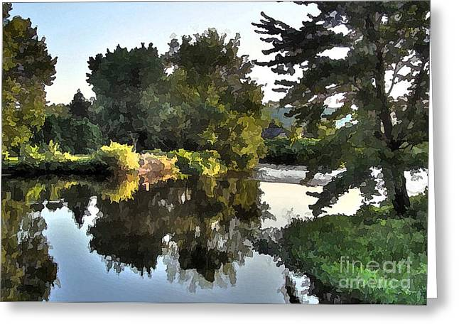 Greeting Card featuring the photograph Summer Still by Betsy Zimmerli