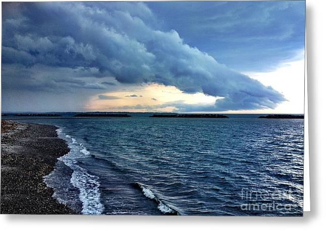 Summer Storm Greeting Card by Extrospection Art