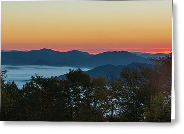 Summer Sunrise - Almost Dawn Greeting Card