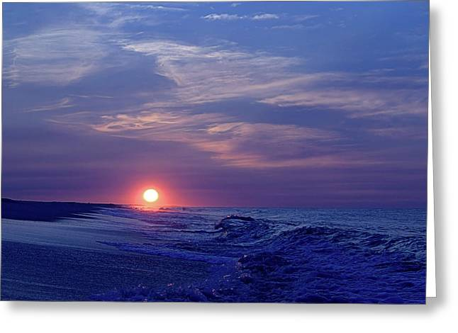 Summer Sunrise I I Greeting Card