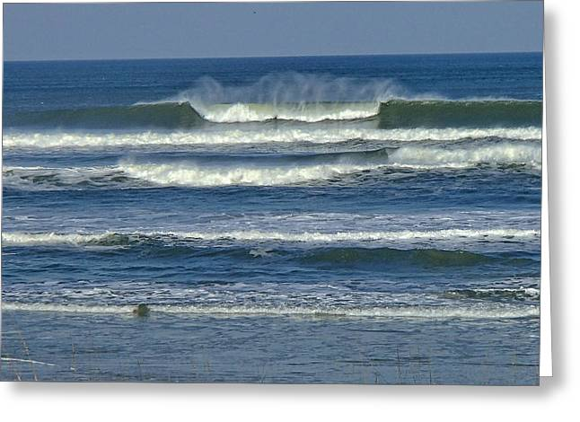 Summer Swell Greeting Card by Donna Cain