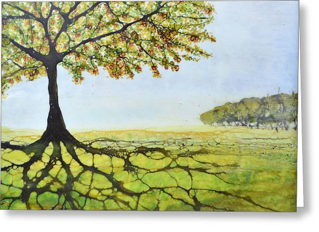 Summer Trees Greeting Card by Jennifer  Creech