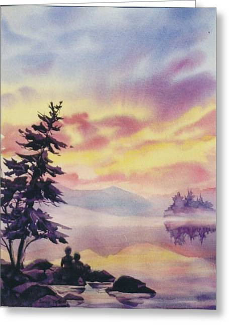 Summer-vacation Greeting Card by Nancy Newman
