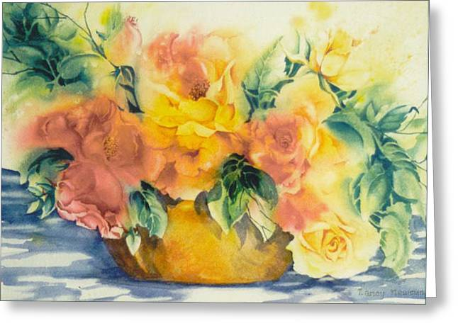 Summer-warmth Greeting Card by Nancy Newman