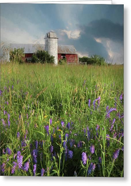 Summer Wildflowers Greeting Card by Lori Deiter