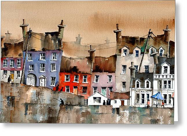 Cork... Summercove, Kinsale. Greeting Card