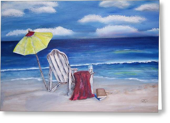 Summers Dream Greeting Card by Penny Everhart