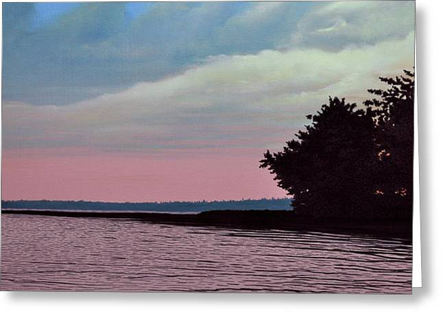 Summers Eve Greeting Card by Kenneth M  Kirsch