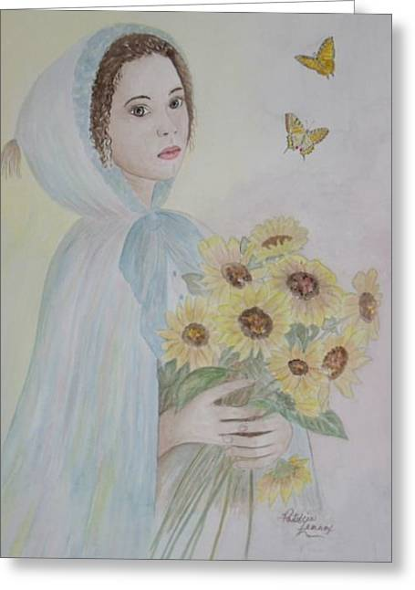 Summer's Flower Greeting Card by Patti Lennox