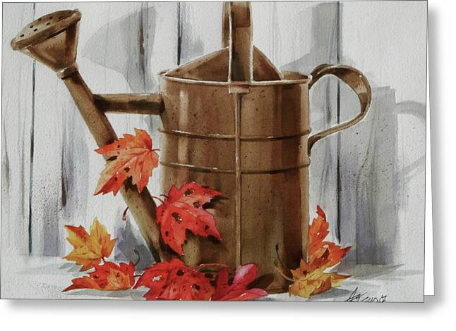 Summer's Over Greeting Card by Art Scholz