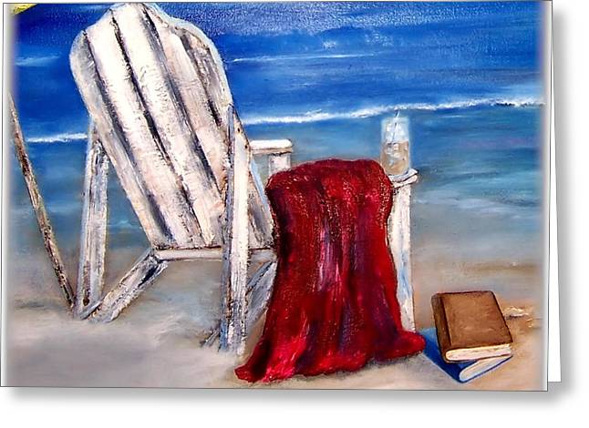 Summers Over Greeting Card by Penny Everhart