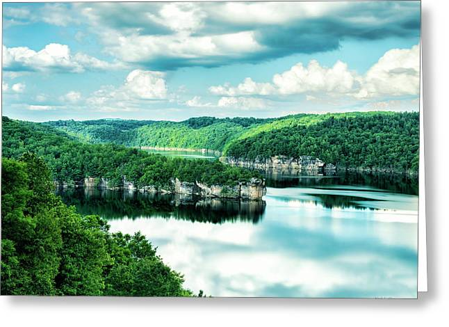 Summertime At Long Point Greeting Card
