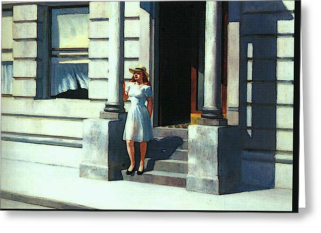 Summertime  Greeting Card by Edward Hopper