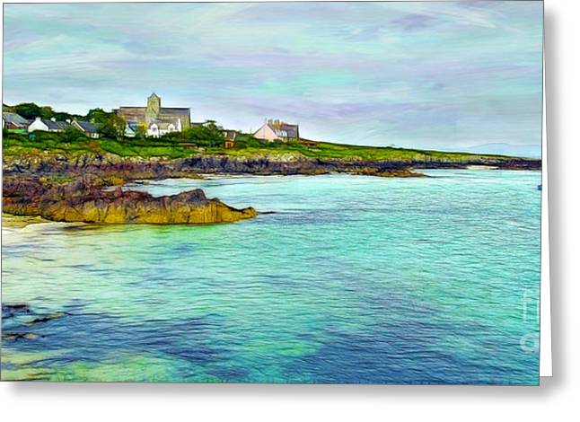 Summertime, Isle Of Iona Greeting Card