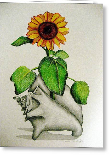 Summertime Greeting Card by Marita McVeigh