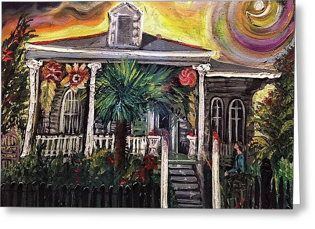 Summertime New Orleans Greeting Card