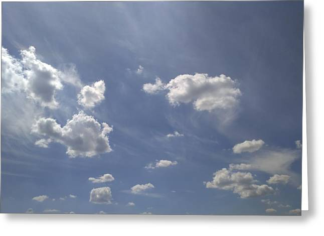 Summertime Sky Expanse Greeting Card