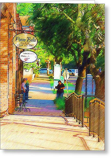 Summerville Sc Greeting Card by Donna Bentley