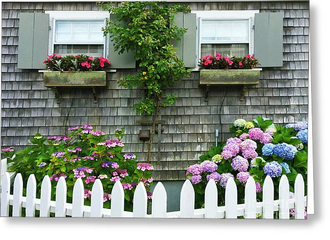 Summery Nantucket Greeting Card