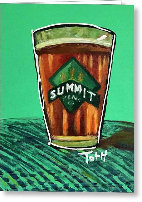 Summit 2 Greeting Card