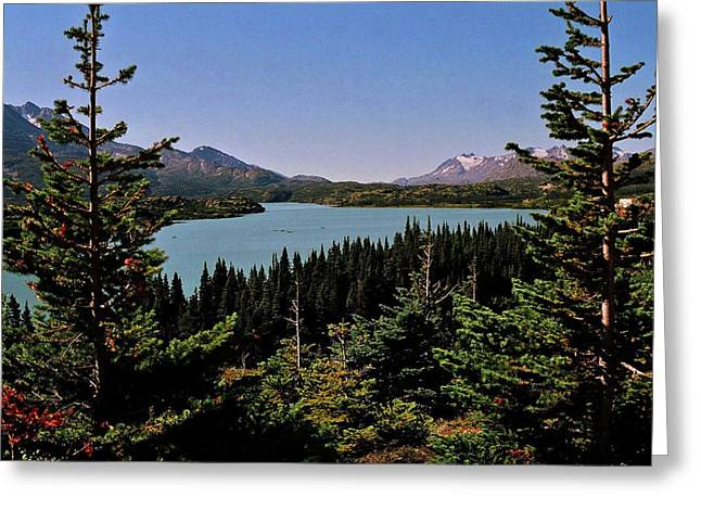 Tagish Lake - Yukon Greeting Card