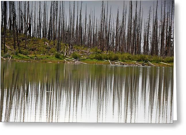Summit Lake Greeting Card