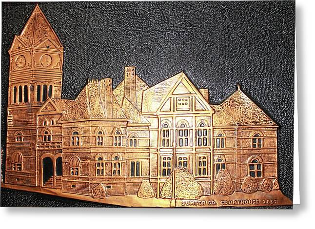 Sumter County Courthouse - 1897 Greeting Card