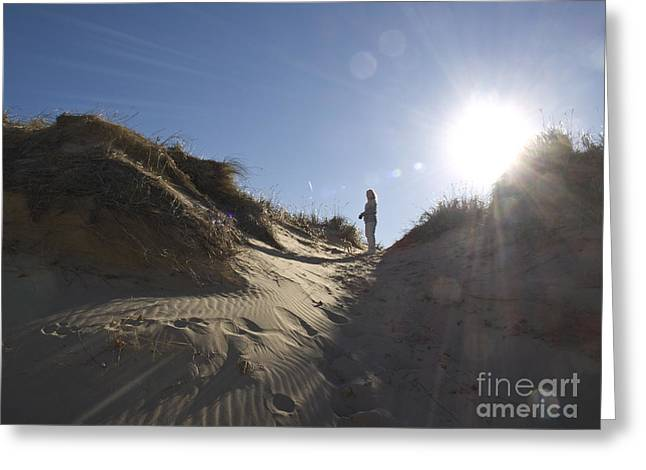 Greeting Card featuring the photograph Sun And Sand  by Tara Lynn