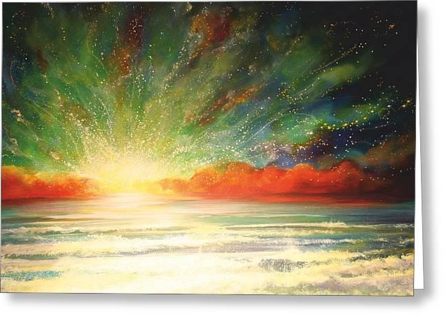 Sun Bliss Greeting Card by Naomi Walker