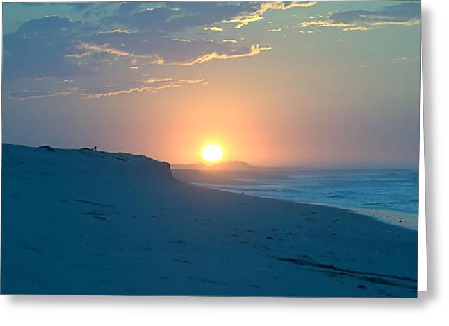 Greeting Card featuring the photograph Sun Dune by  Newwwman