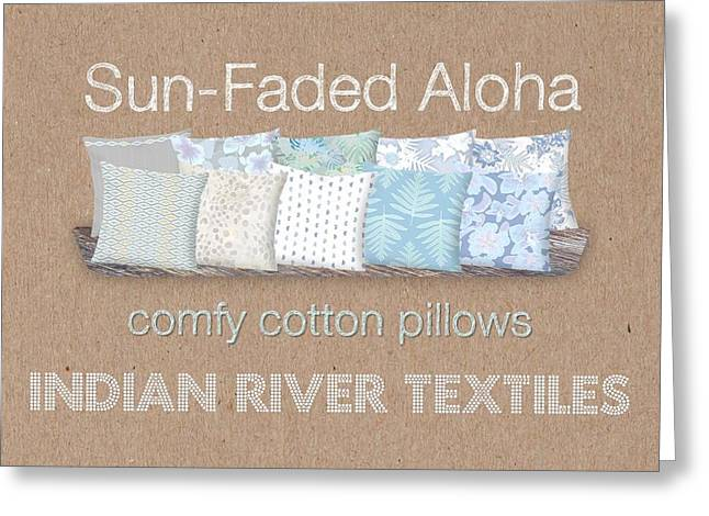 Sun-faded Aloha Gallery Greeting Card