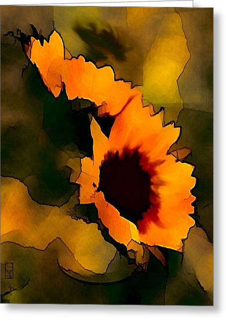 Sun Flower Greeting Card