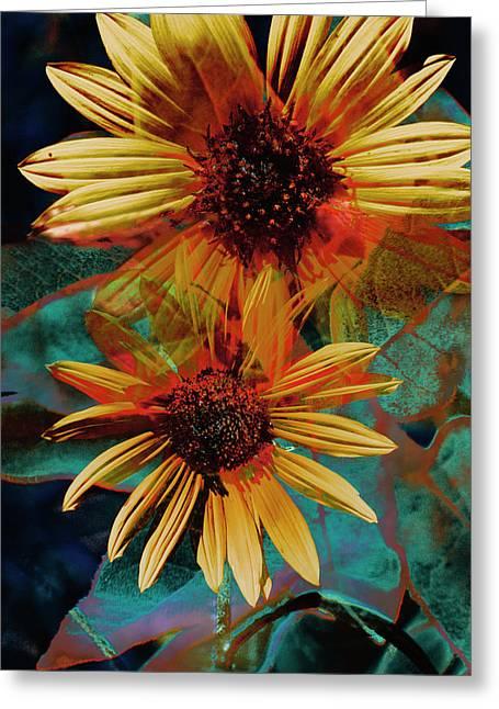 Sun Godess Greeting Card