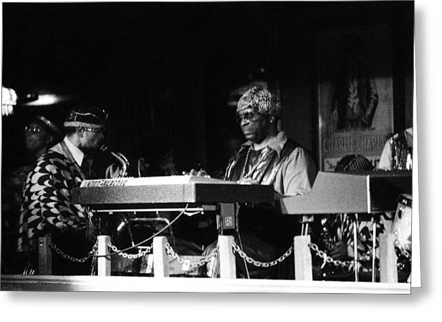 Sun Ra Arkestra At The Red Garter 1970 Nyc 31 Greeting Card