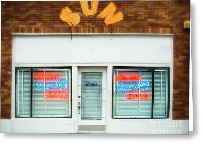 Sun Records Greeting Card