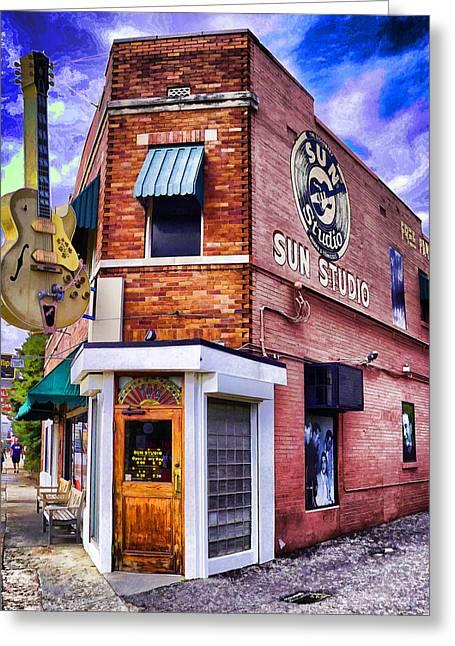 Sun Studio Greeting Card